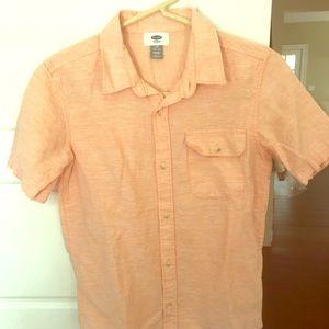 ⭐️4/$25 Old Navy Short Sleeve Button Down Shirt